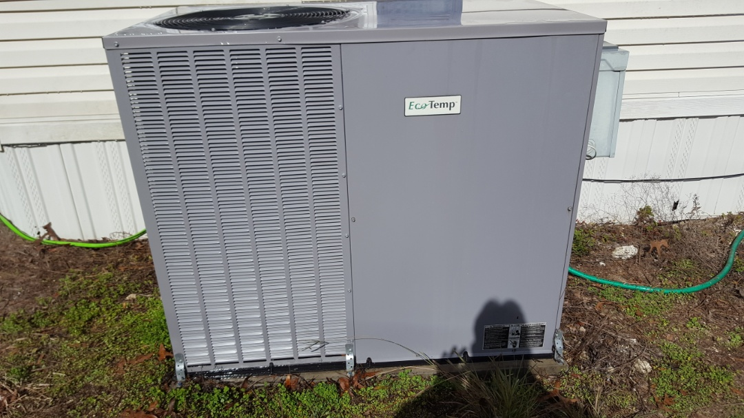 Lake City, FL - Didn't maintenance on four-year-old eco temp package unit