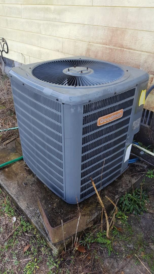 Micanopy, FL - Did maintenance on 6 year old Goodman system