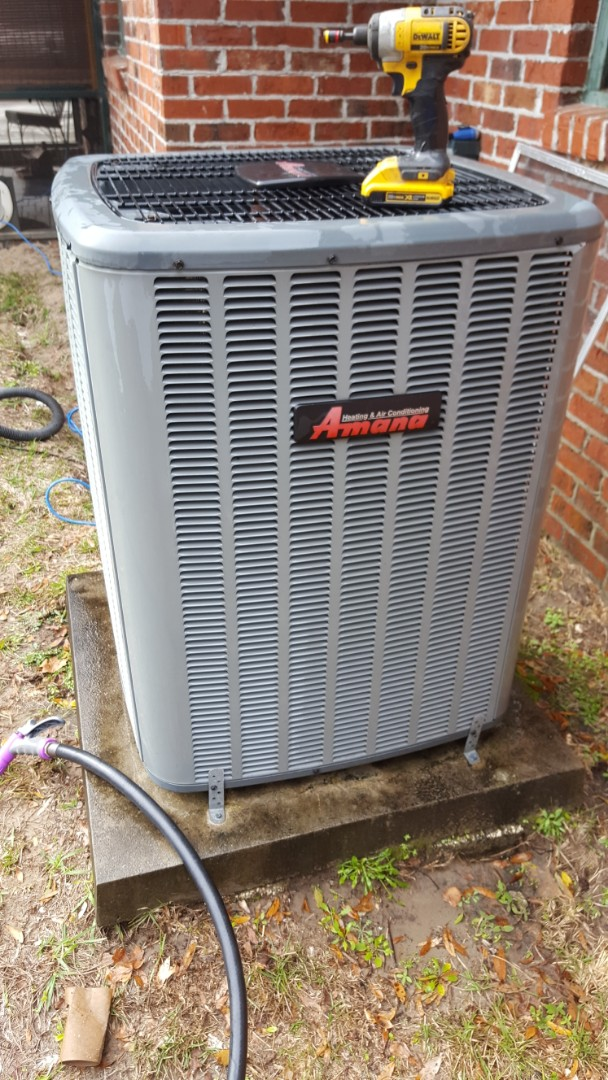 High Springs, FL -  did maintenance on 7 year old Amana system install the UV air purifier