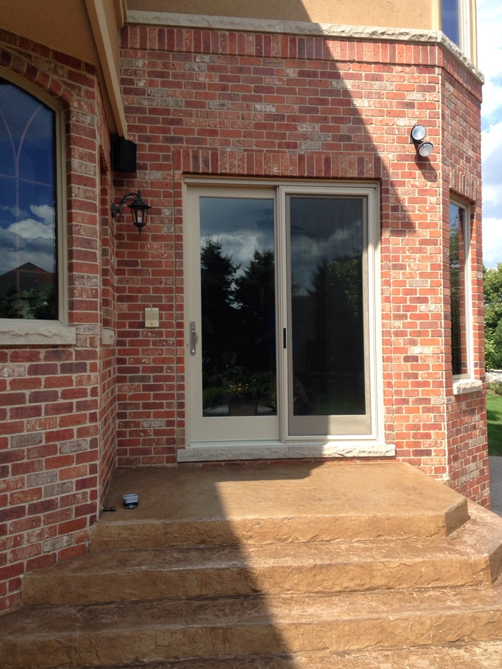 Burr Ridge, IL - 8 foot tall Marvin ultimate French style sliding door