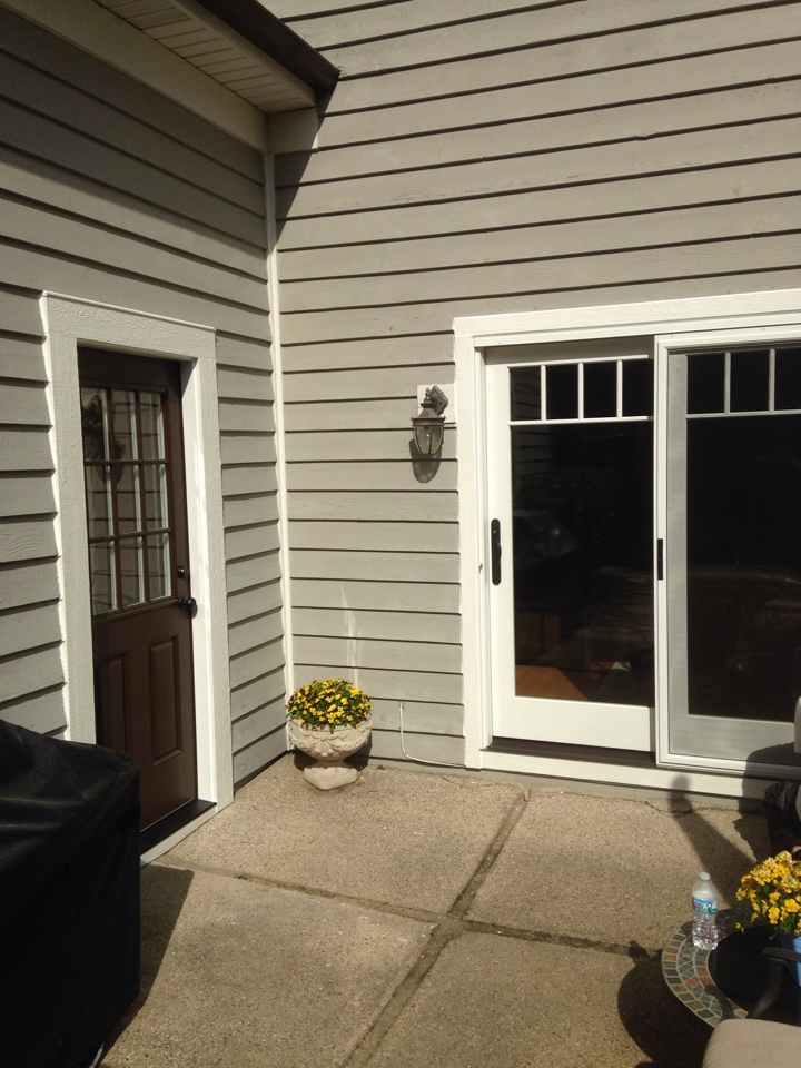 Hinsdale, IL - Albany entry door with Marvin ultimate slider