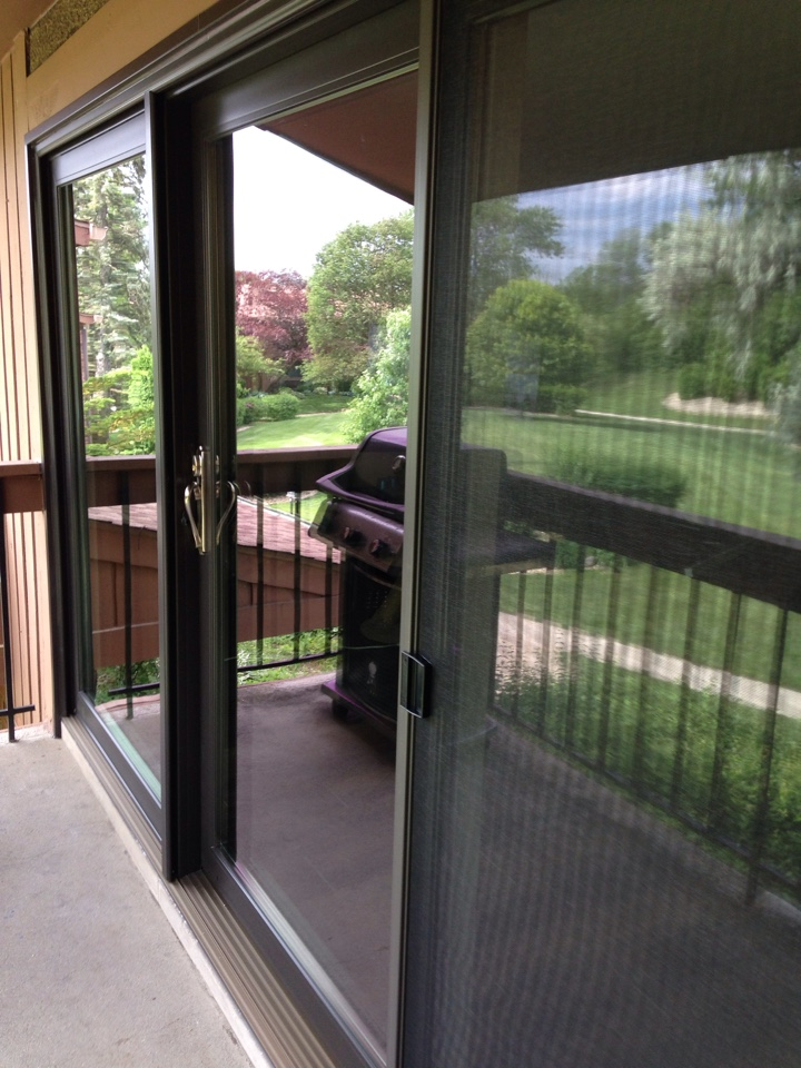 Burr Ridge, IL - Sunrise 12 foot sliding door