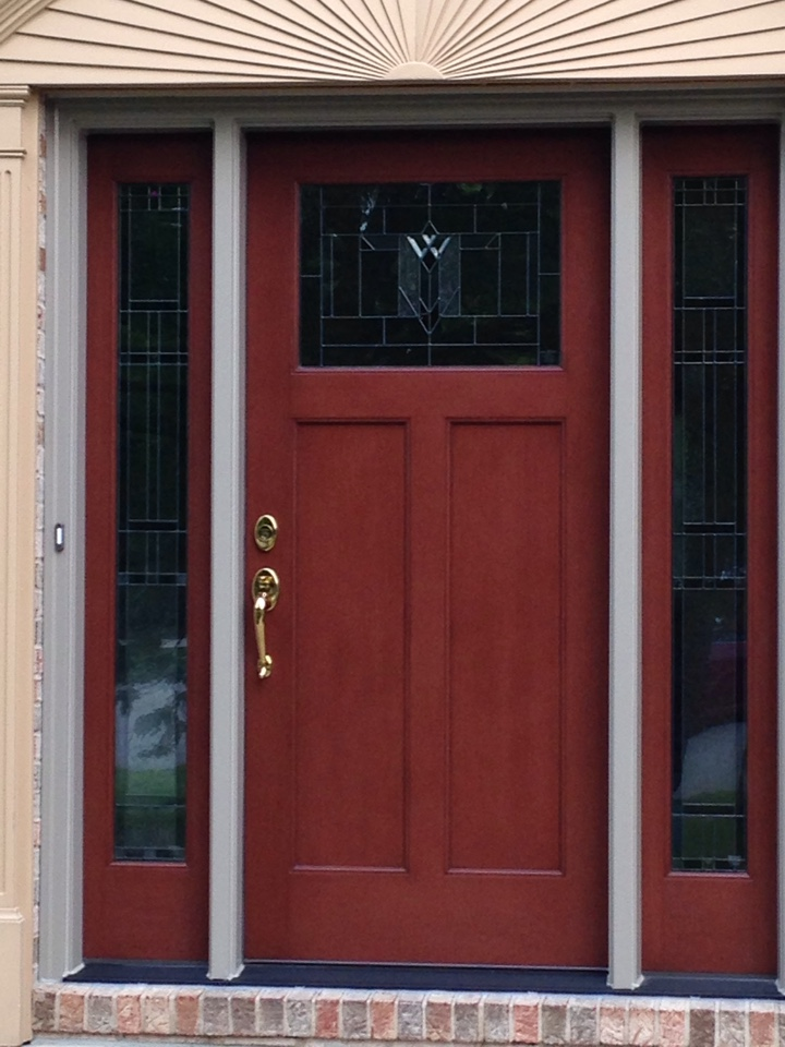 Naperville, IL - Therma Tru door and sidelights