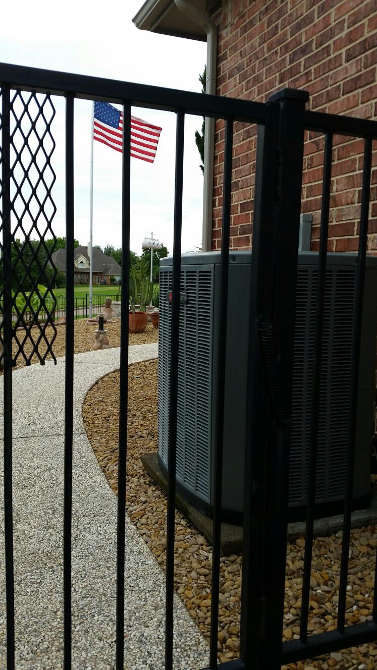 Heath, TX - Install Trane compressor and run cap also install Rheem evaporator coil