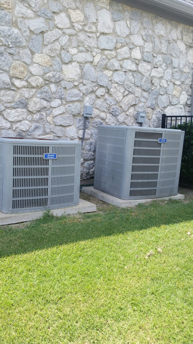 Heath, TX - AC repair replace compressor on American Standard air conditioning system performed air conditioning service Heath Texas