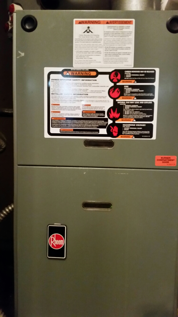 Mesquite, TX - AC repair replace blower motor rheem air conditioning system perform air conditioner tune up