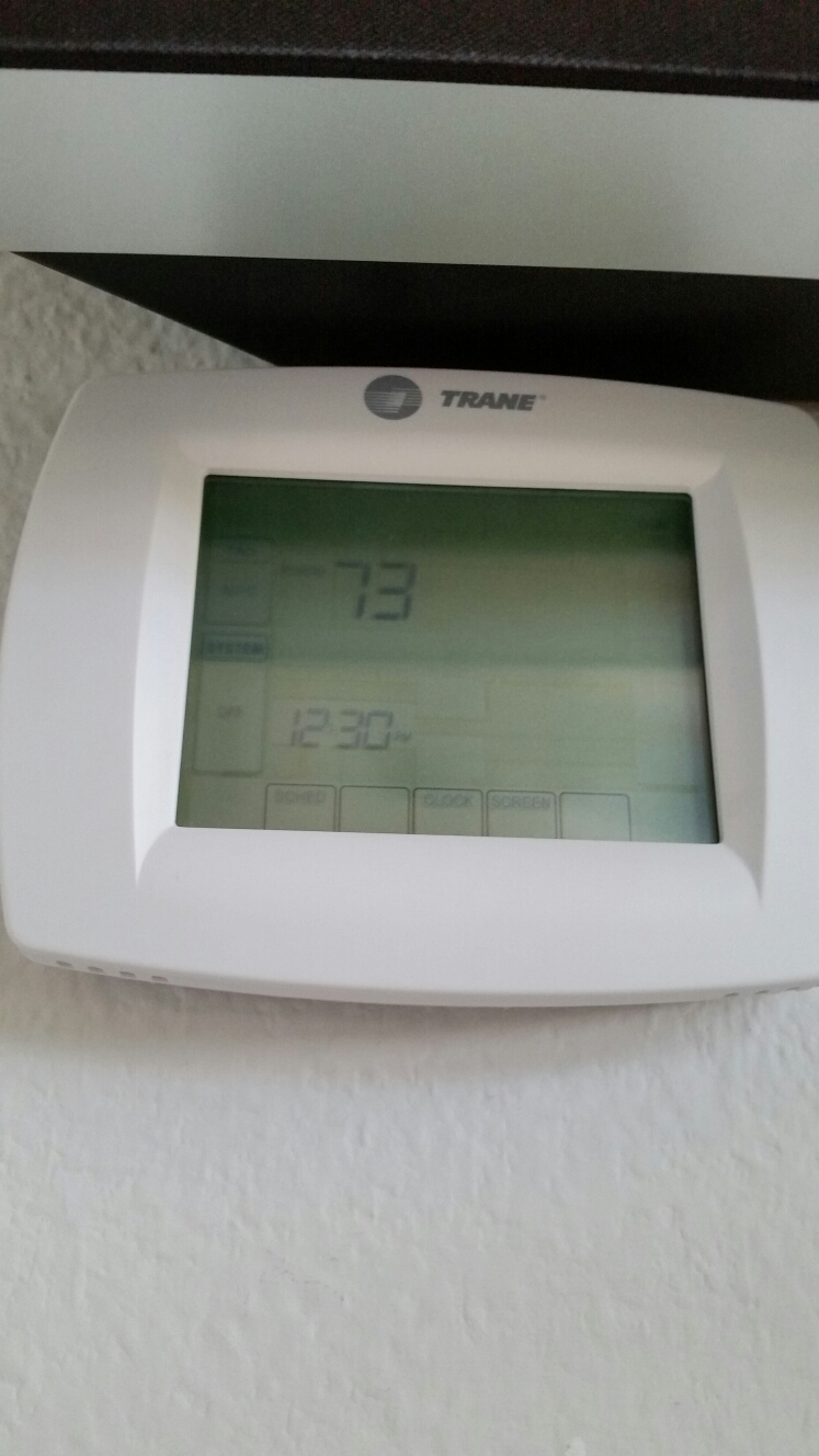 Richardson, TX - AC repair carrier Air conditioner replace Honeywell thermostat also performed air conditioning service Richardson Texas