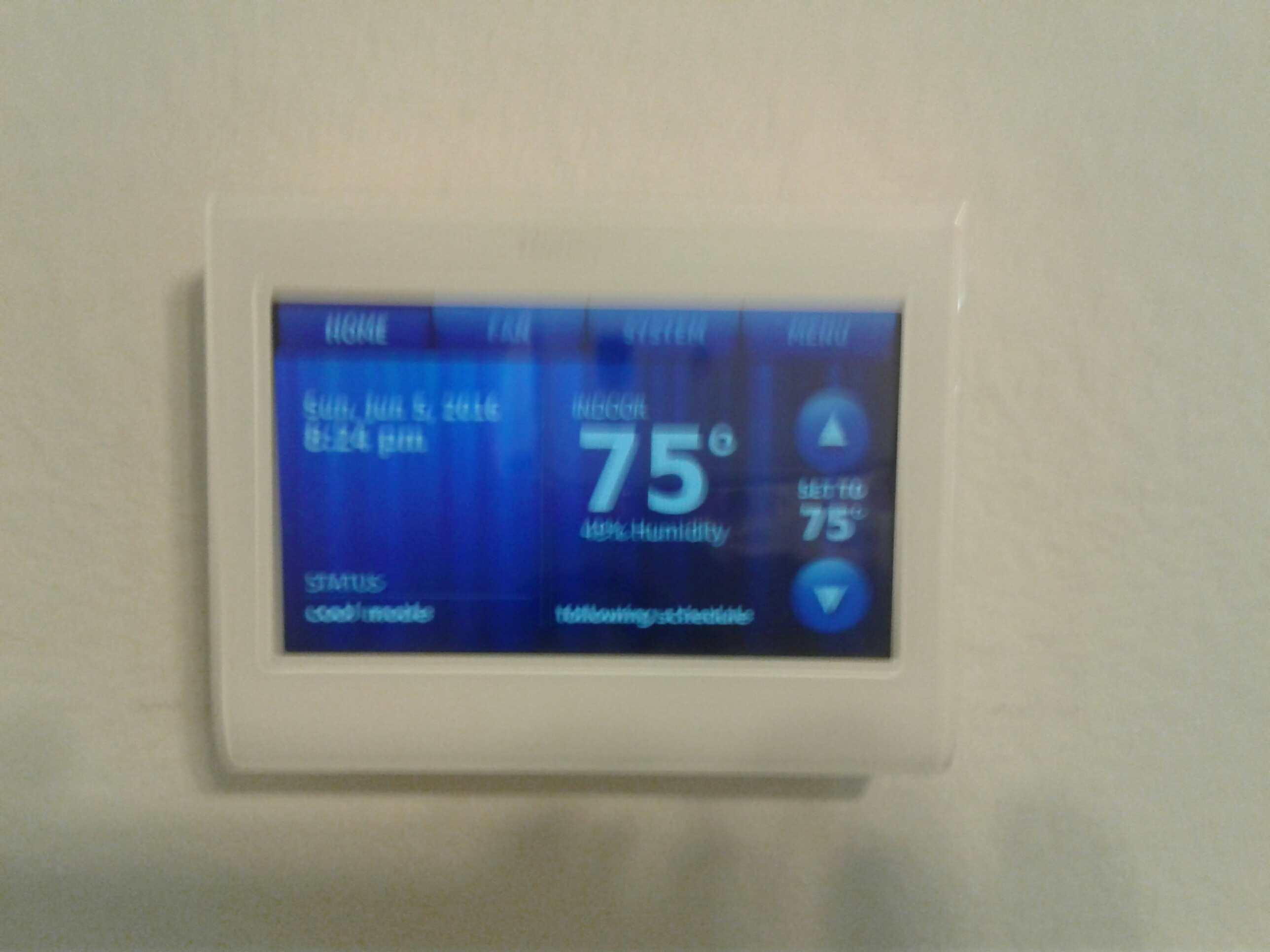 Heath, TX - Install new Honeywell Wi-Fi thermostatinstall new honey will