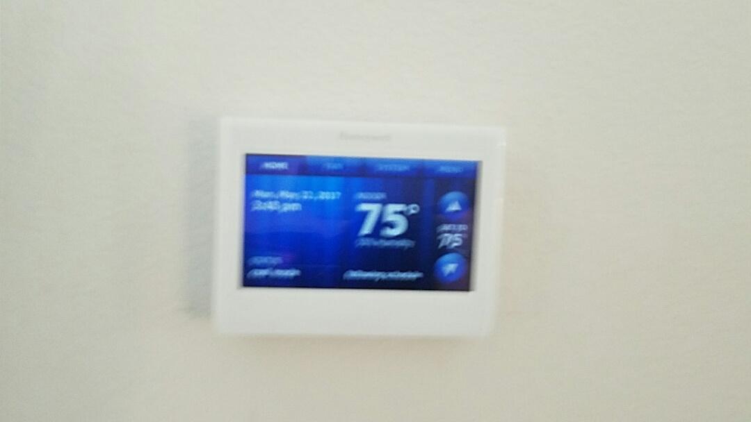 Heath, TX - Installing new Rheem AC air conditioning system