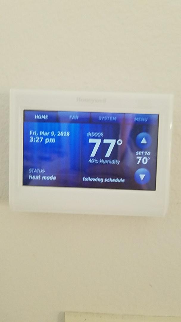 Heath, TX - Install new Rheem 16 Seer air conditioner