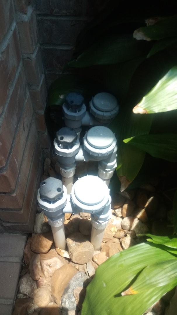 Sprinklers repair