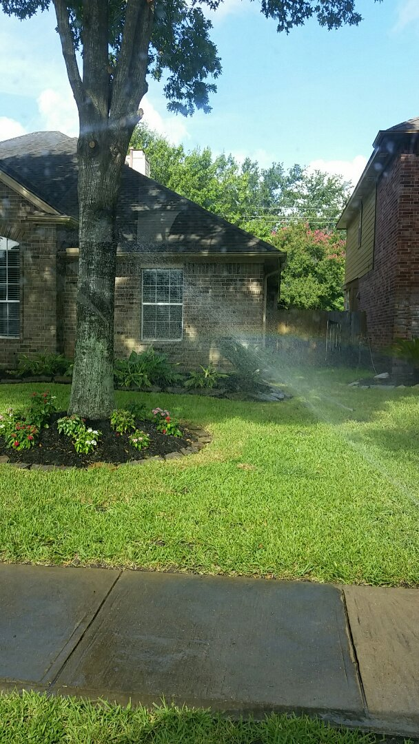 Missouri City, TX - Sprinkler not coming on