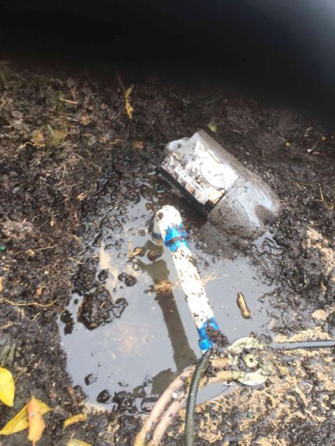 Friendswood, TX - Repair Leak; Rainbird system.