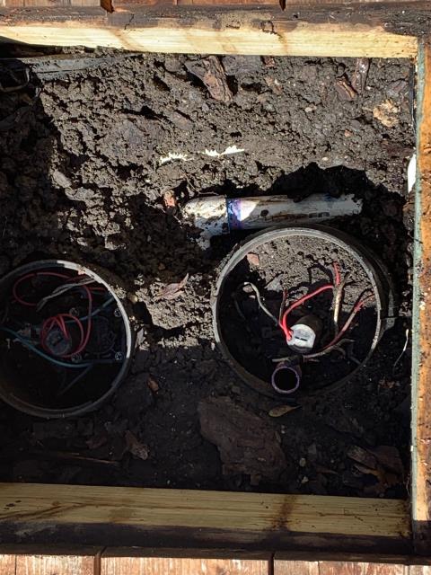 Benbrook, TX - sprinkler repair valves leaking