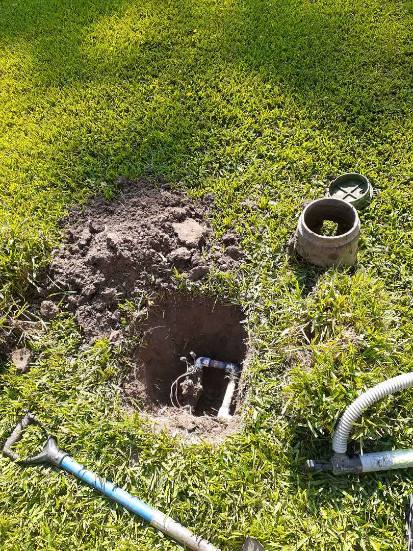 Cypress, TX - Replacing sprinkler valves.