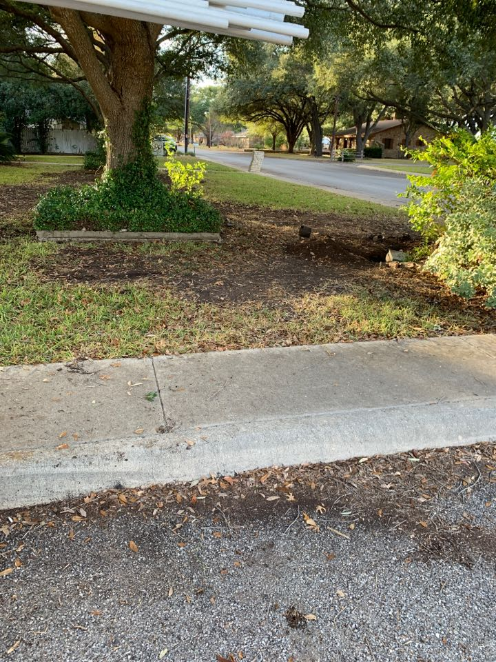 Castroville, TX - Repairing a main line leak