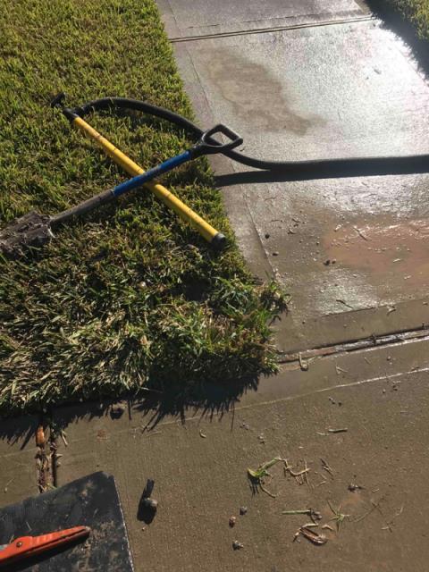 Arcola, TX - Repair leak under the head.