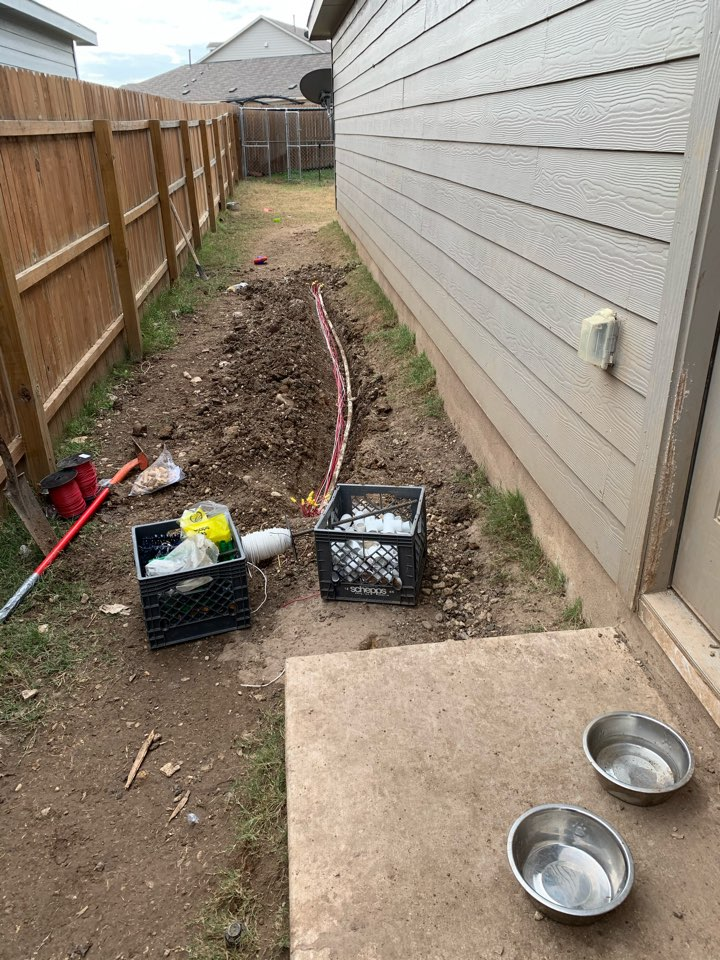 San Antonio, TX - Repairing wire issues and system check