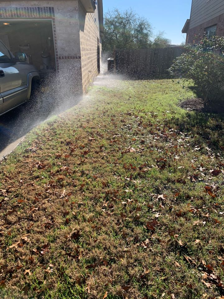 San Antonio, TX - System check and irrigation repairs. Replaced sprinkler heads and repaired broken drip lines