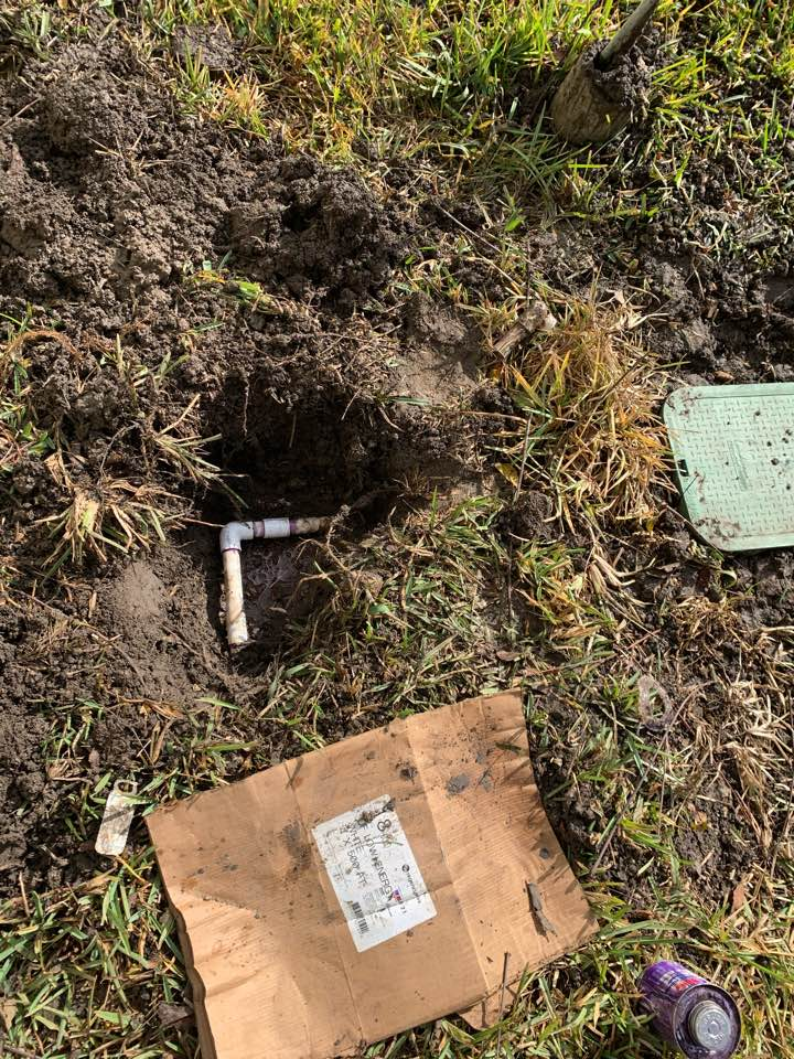 San Antonio, TX - Irrigation check up and repaired broken lateral lines