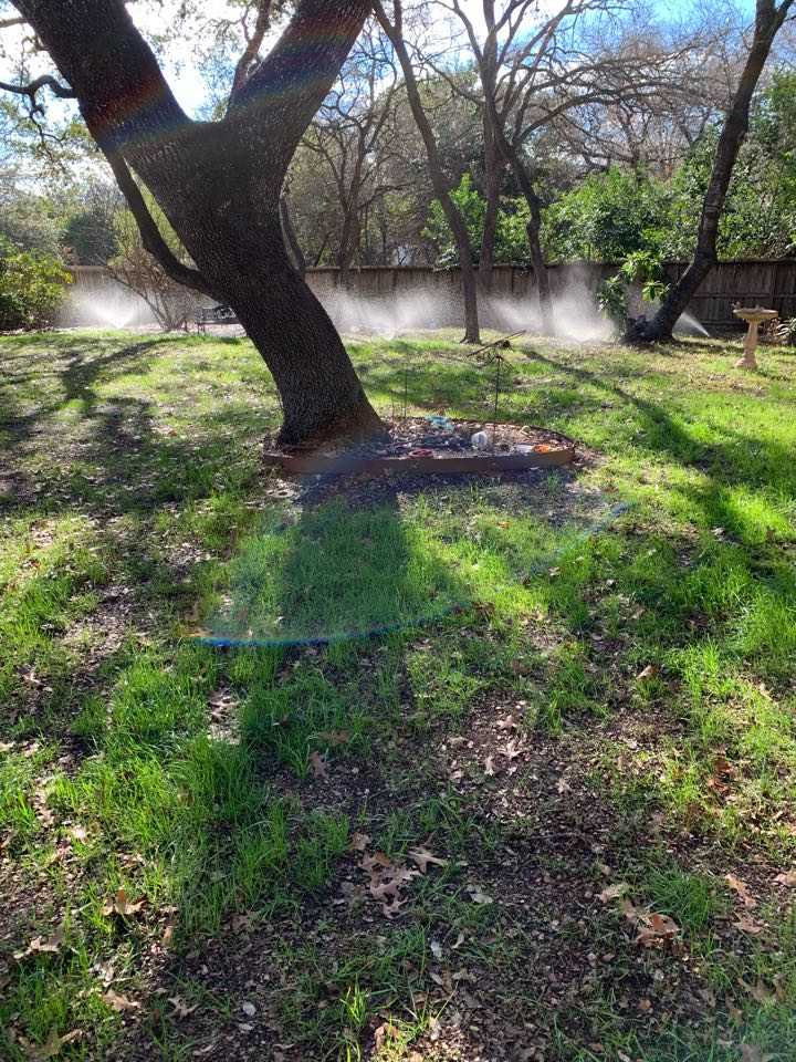 San Antonio, TX - Repairing irrigation leaks and replacing sprinkler heads