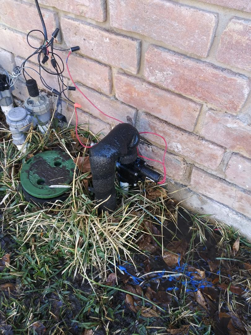 Jersey Village, TX - Replaced valve