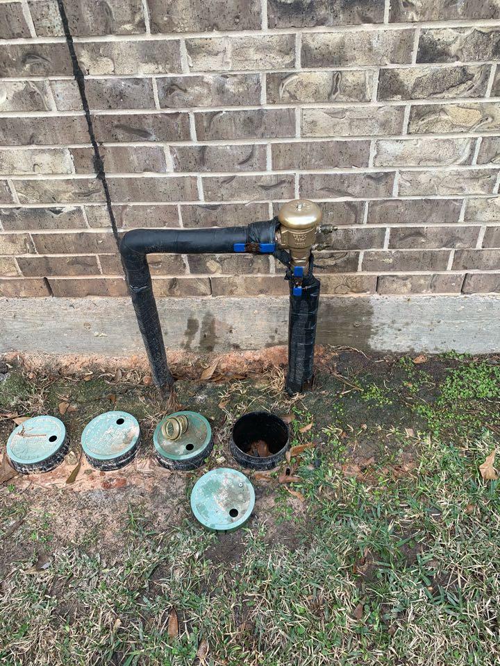 Pinehurst, TX - Repairing PVB