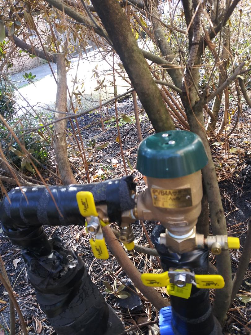 Cypress, TX - Replaced Backflow