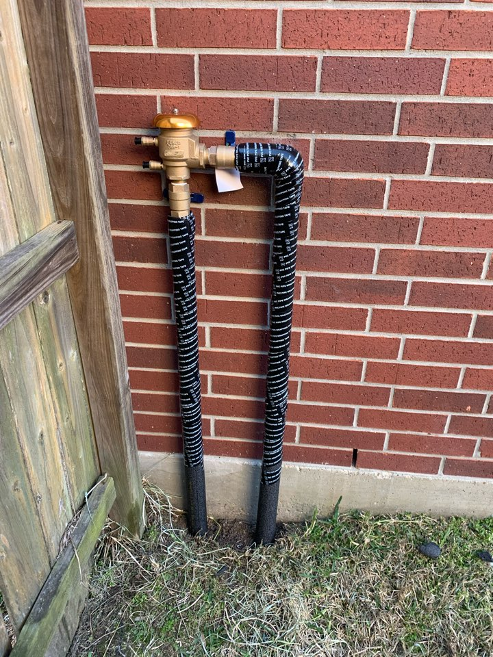 Katy, TX - Replacing PVB and insulated pvc