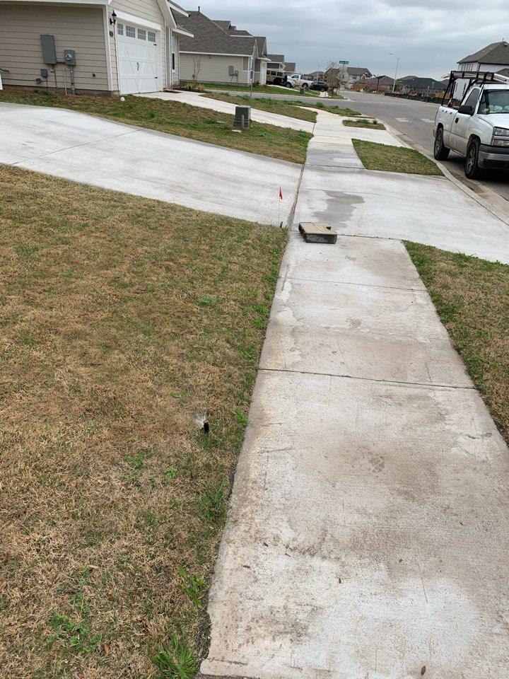 Spring irrigation start up