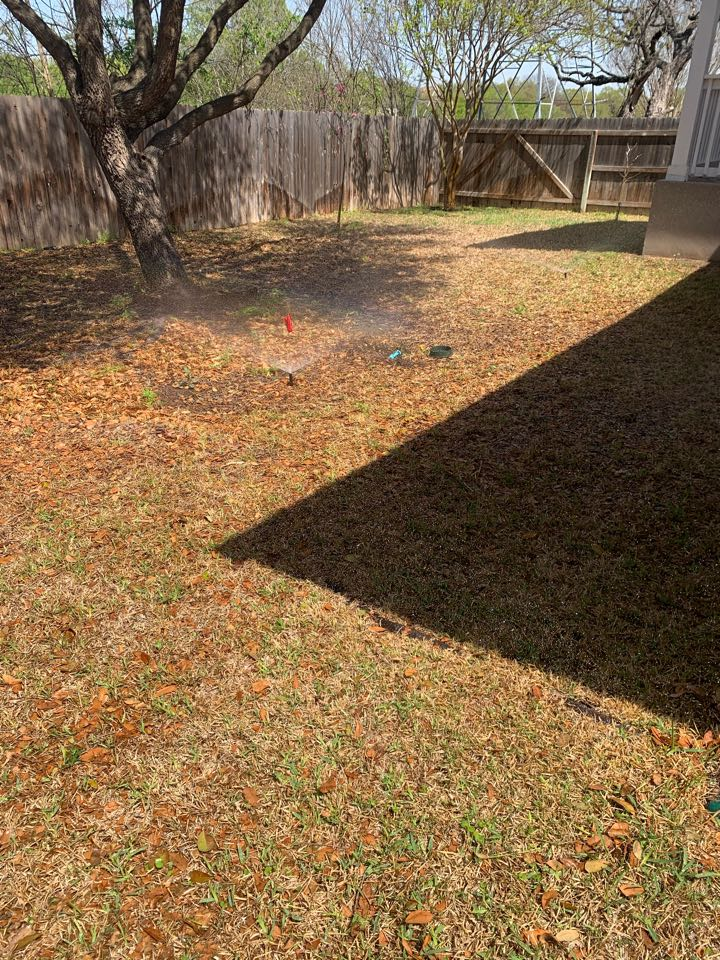 Helotes, TX - Replacing a d adjusting sprinkler heads for best possible coverage. Full system check