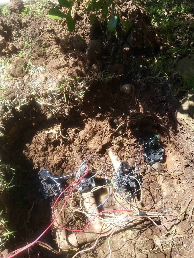 Conroe, TX - Replaced valves