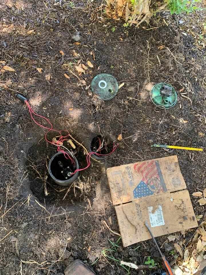"Converse, TX - Repairing 1"" irrigation valve. Full system check and repair"