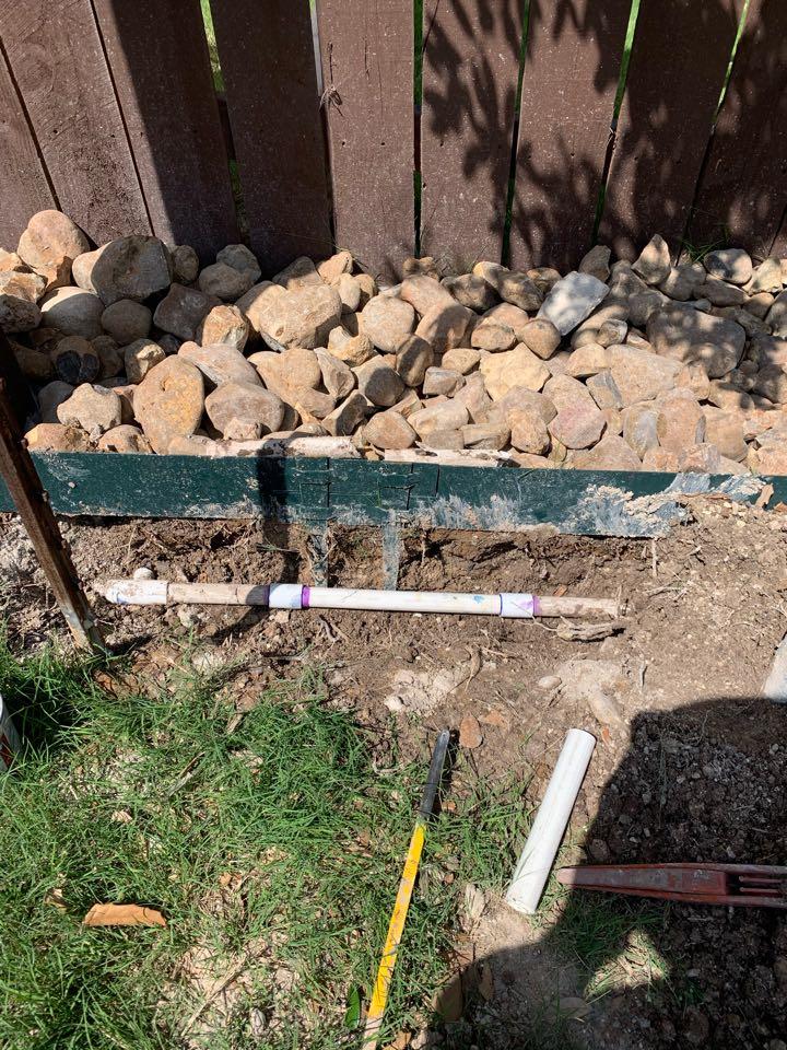 San Antonio, TX - Repairing main line leaks