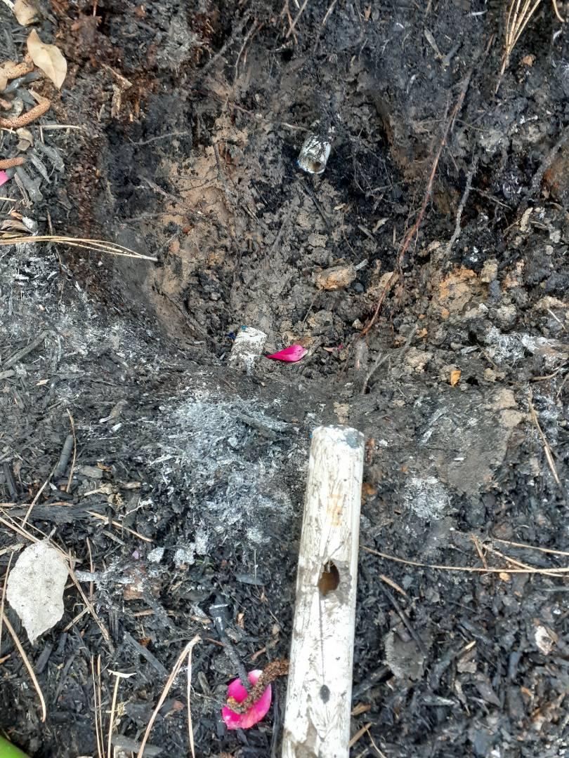 Katy, TX - Repairing broken sprinkler pipes