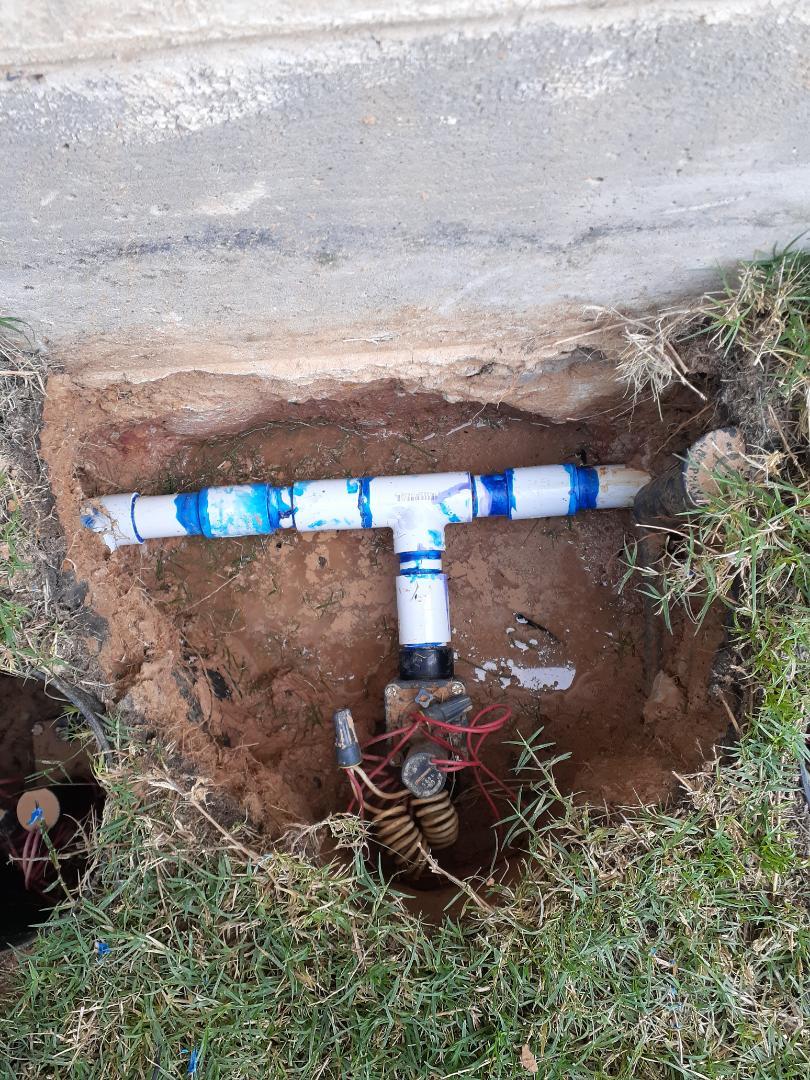 Repairing sprinkler leaks