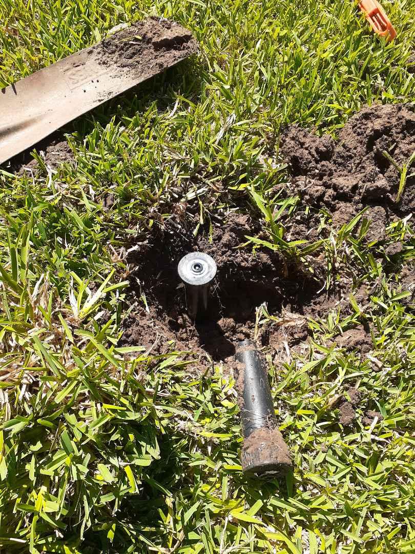 Houston, TX - Replacing sprinkler heads