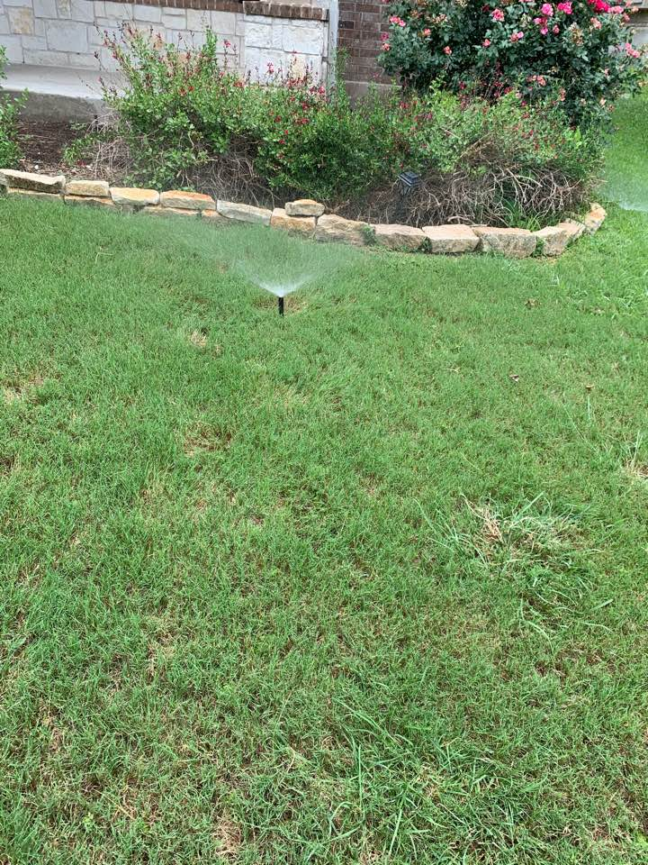 Replacing sprinkler heads and full system check