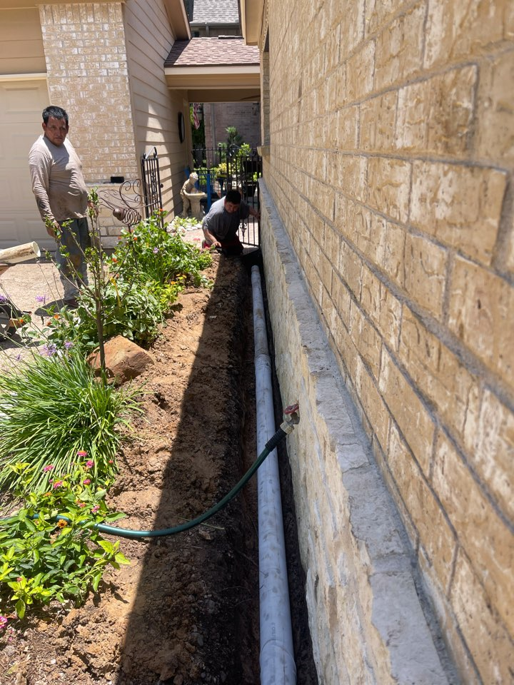 Montgomery, TX - Drainage system
