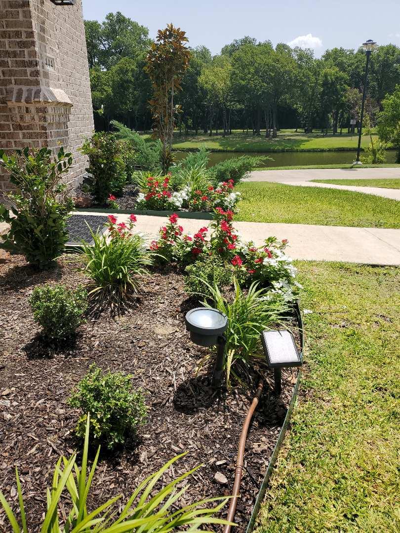 Irving, TX - Sprinkler system repairs,  Drip line leaks.