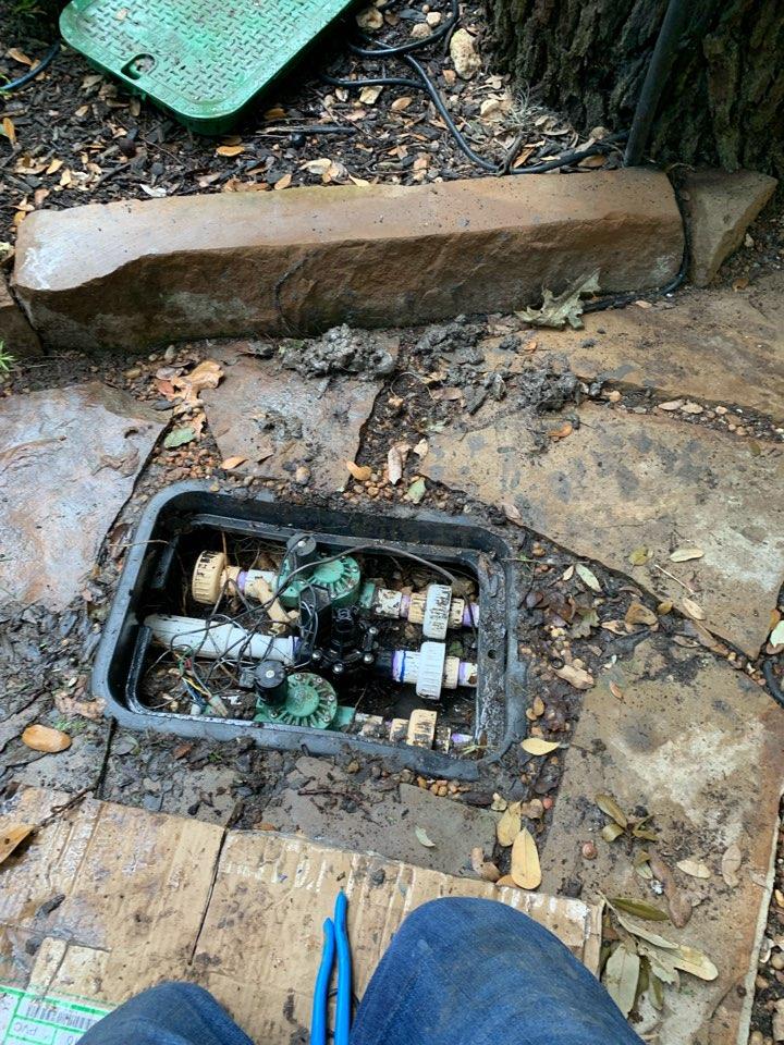San Antonio, TX - Repairing main line leak and system check up