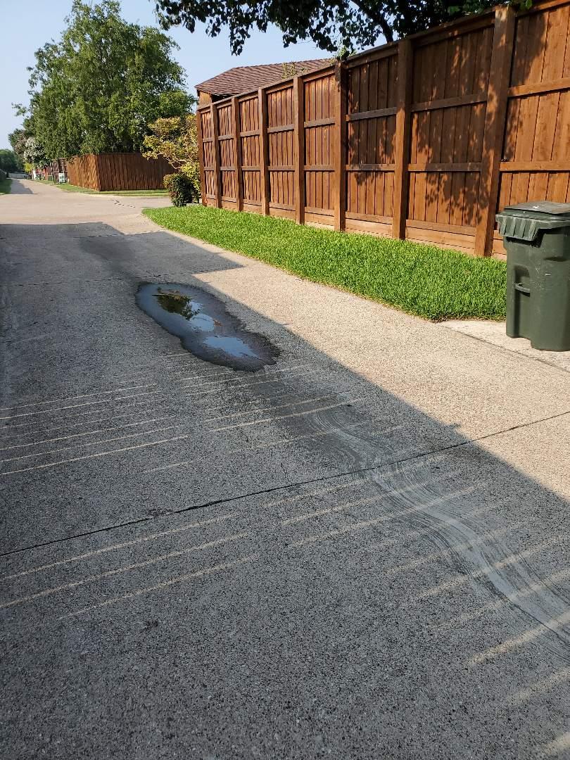 Carrollton, TX - Sprinkler system repairs,  Replacing broken sprinkler heads.