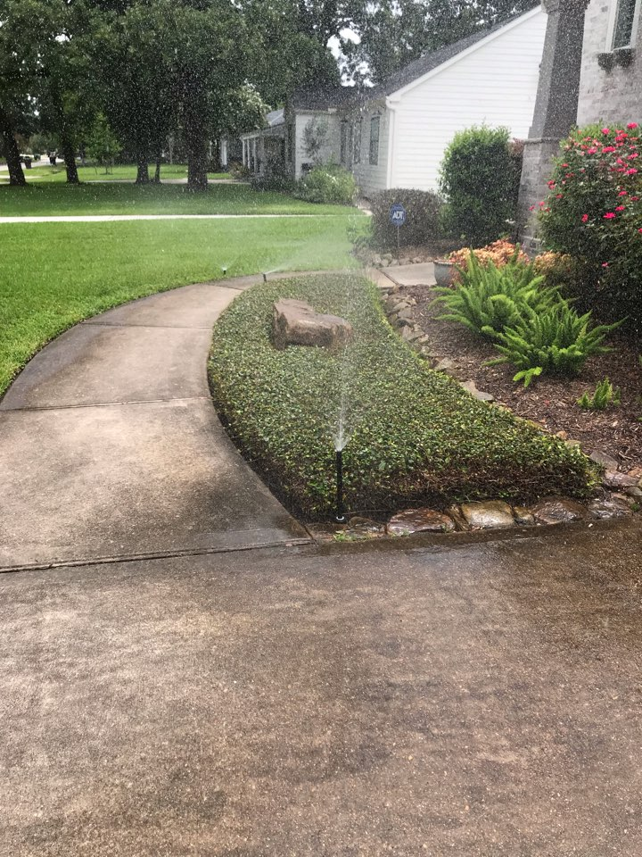 Replace sprinkler system