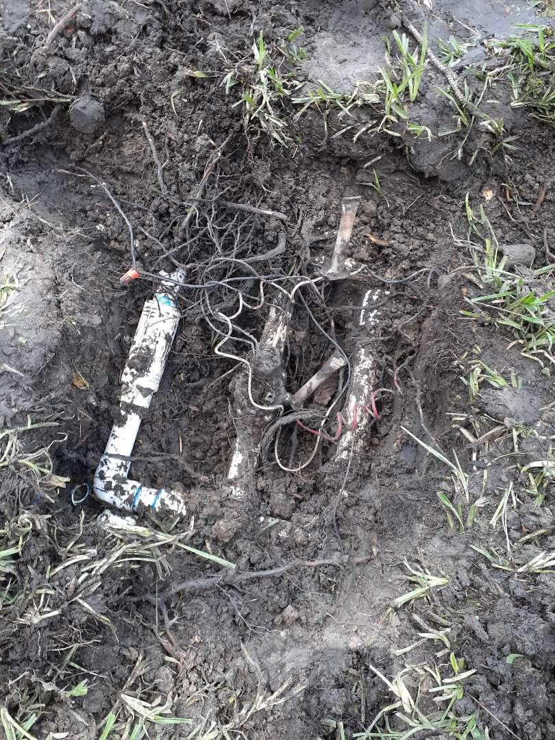 Houston, TX - Repairing sprinkler Rainbird valves wiring issues.