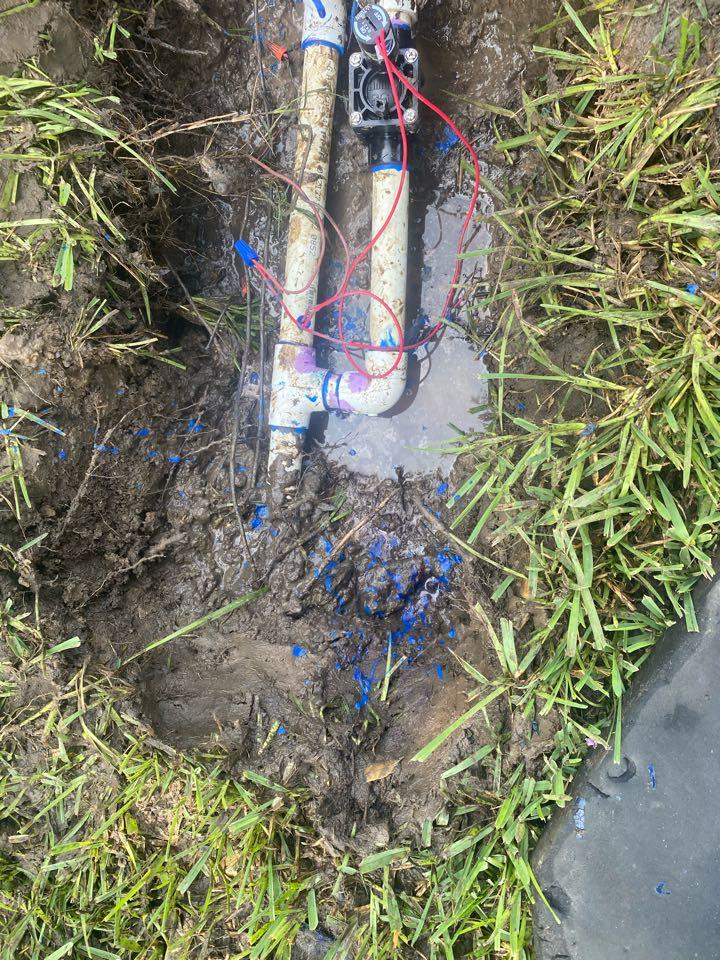Trophy Club, TX - Fix broken valve