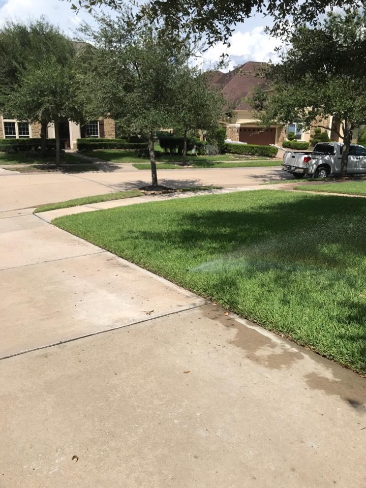 Katy, TX - Repair leak