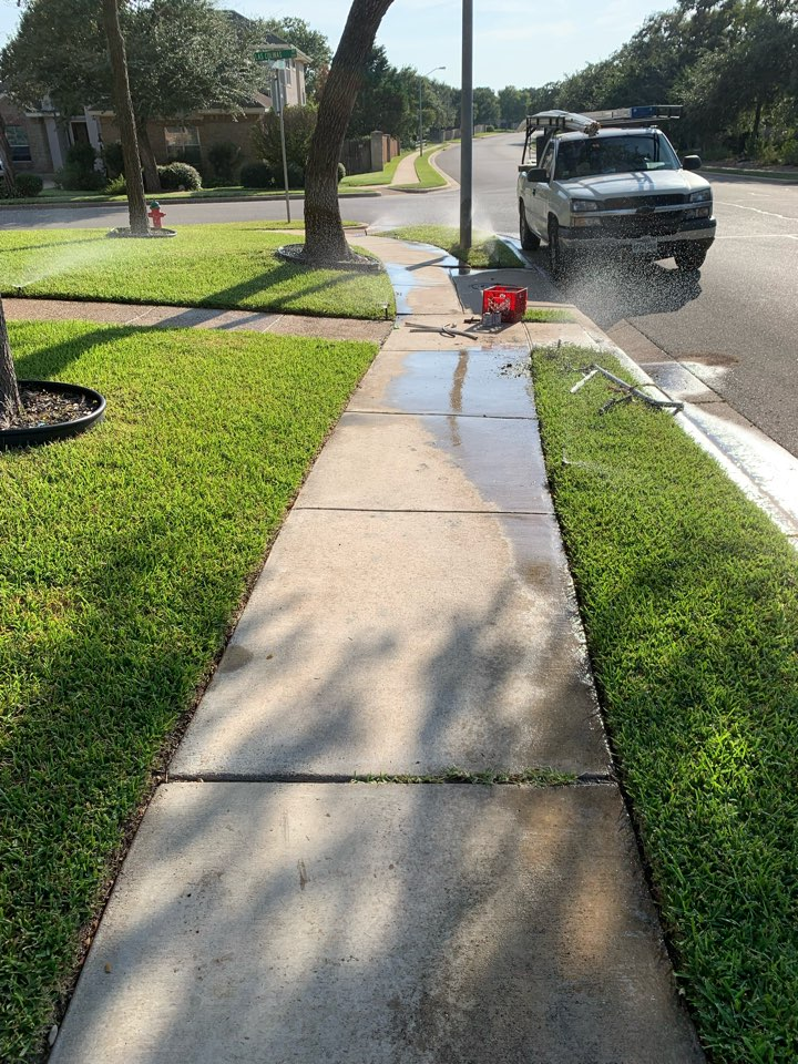 Replacing sprinkler heads and system check