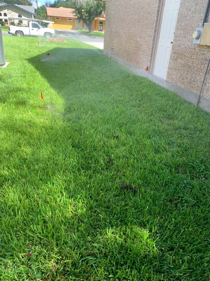 Boerne, TX - Replacing and adjusting sprinkler heads, as needed for best coverage