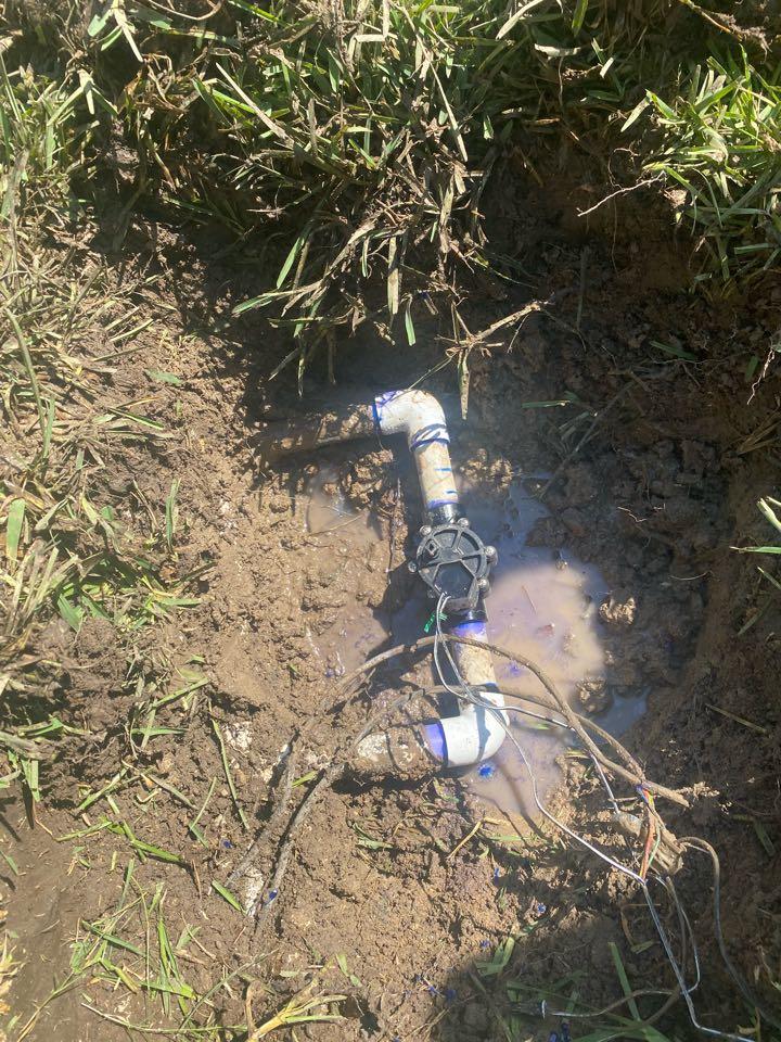Corinth, TX - Fix broken valve