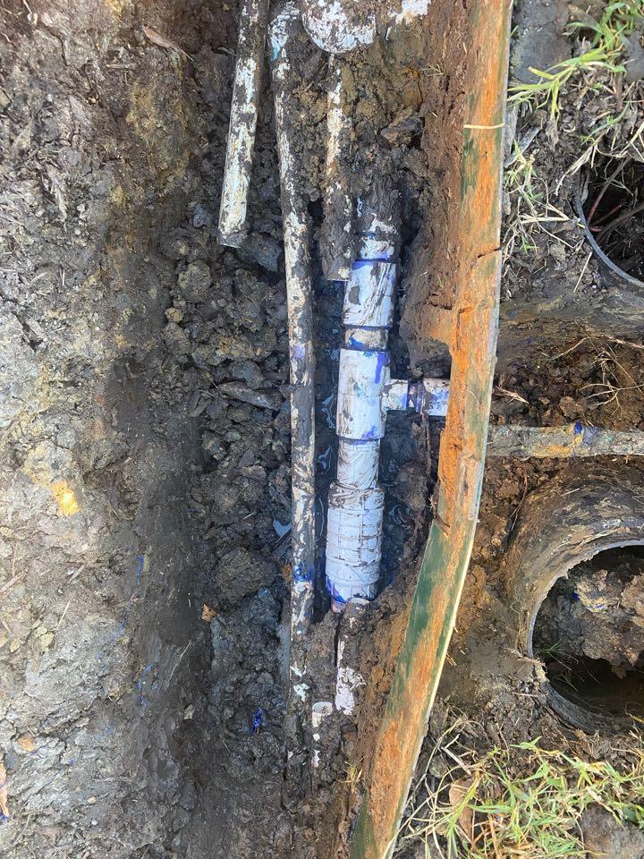 Allen, TX - Fix broken main line